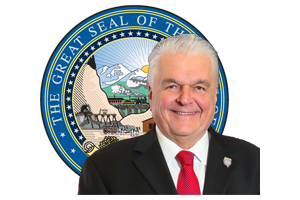Governor Sisolak Logo